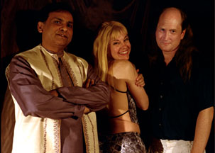 Photo of Arshad Syed, Patti Weiss, and Matthew Montfort
