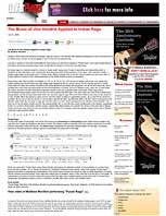 Hendrix Raga Article