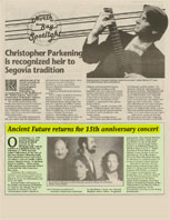 North Bay Spotlight Ancient Future 15th Anniversary Concerts 2-9-94