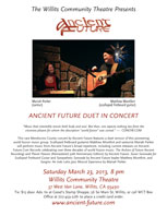 Ancient Future Concert Poster