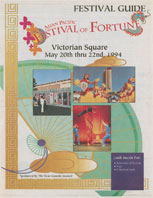 Asian Pacific Festival of Fortune Festival Guide by the Reno Gazette-Journal 5-20-94