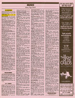 San Francisco Chronicle Pink Section In Concert and Mention in Trance Mission Article 8-22-93