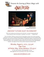 Ancient Future Concert Poster