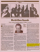 Pacific Sun Article East meets West with Ancient Future 8/25/93
