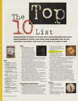 Tower Pulse Ancient Future Absorbs Asian Sounds and Top 10 Lists Articles Nov-Dec 93