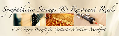 Sympathetic Strings and Resonant Reeds Benefit