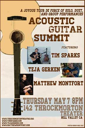 Acoustic Guitar Summit 5-7-2015 Poster