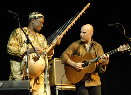 Walter Strauss and Mamadou Sidibe