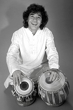 Tabla master Zakir Hussain
