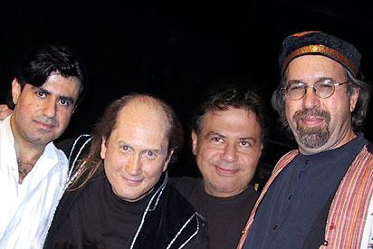Photo of Georges Lammam, Matthew Montfort, Antoine Lammam, and Doug McKeehan
