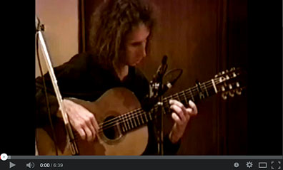 David Easley (flamenco guitar) on youtube