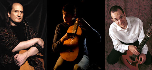 Guitar Summit with Matthew Montfort, Giacomo Fiore, and Teja Gerken