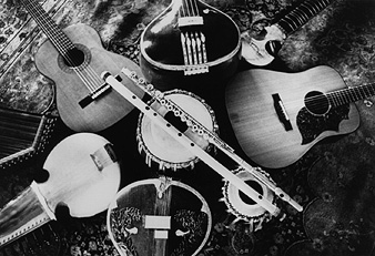 Photo of Instruments Used on Visions of a Peaceful Planet by Ancient Future