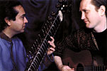Guitar-Sitar Jugalbandi with Pandit Habib Khan and Matthew Montfort