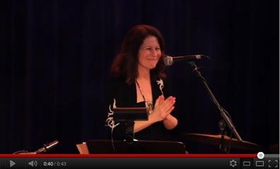 Video of Mariah Parker talking about Matthew Montfort's benefit concert