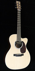 Scalloped Fretboard Guitar