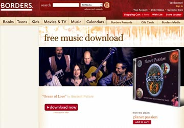 Borders Free Music Download