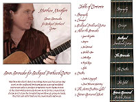 Seven Serenades by Matthew Montfort Digital Liner Notes