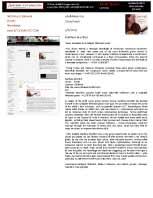 Seven Serenades Media Report