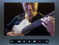 Skype Guitar Lesson