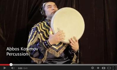 Abbos Kosimov records A.F.A.R., 3/7/13
