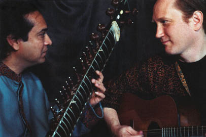 Matthew Montfort and Pandit Habib Khan