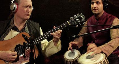 Matthew Montfort and Vishal Nagar Recording A.F.A.R.